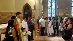 9am-SH Hall-1st Communion classes @ Sacred Heart worship site   New Brunswick   New Jersey   United States