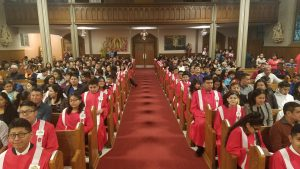 Confirmation 2 Opening Retreat @ Sacred Heart worship site