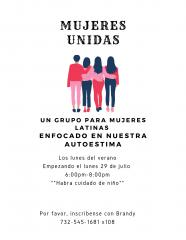 Mujeres Unidas @ Sacred Heart Church- Office Library