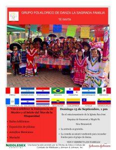Independencia de Mexico y el Inicio del mes de la Hispanidad / Mexico Independence Day and Beginning of Hispanic Heritage Month @ Saint Joseph Church
